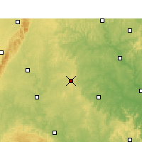 Nearby Forecast Locations - Lezhi - Mapa