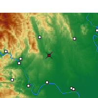 Nearby Forecast Locations - Dangyang - Mapa
