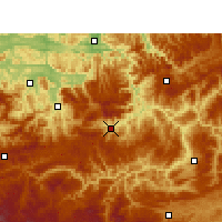 Nearby Forecast Locations - Gulin - Mapa