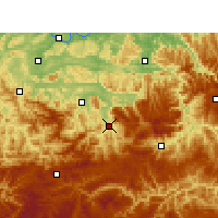 Nearby Forecast Locations - Xuyong - Mapa