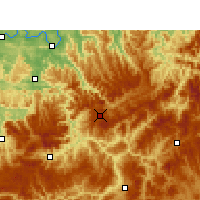 Nearby Forecast Locations - Xishui/GZH - Mapa