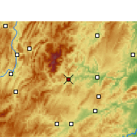 Nearby Forecast Locations - Jiangkou - Mapa