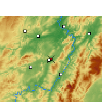 Nearby Forecast Locations - Chuaj-chua - Mapa