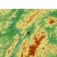 Nearby Forecast Locations - Xupu - Mapa
