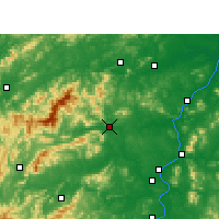 Nearby Forecast Locations - Anfu - Mapa