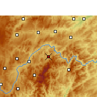 Nearby Forecast Locations - Taijiang - Mapa