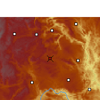 Nearby Forecast Locations - Xingren - Mapa