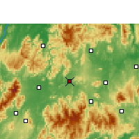 Nearby Forecast Locations - Ningyuan - Mapa