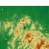 Nearby Forecast Locations - Nanxi - Mapa