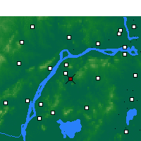 Nearby Forecast Locations - Jiangning - Mapa