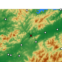 Nearby Forecast Locations - Changshan - Mapa