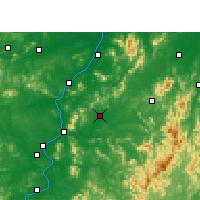 Nearby Forecast Locations - Yongfeng - Mapa