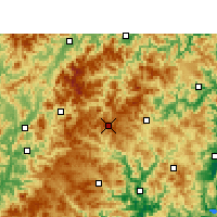 Nearby Forecast Locations - Shouning - Mapa