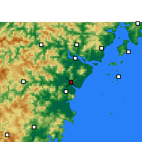 Nearby Forecast Locations - Rui'an - Mapa