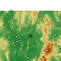 Nearby Forecast Locations - Luan - Mapa