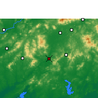 Nearby Forecast Locations - Bobai - Mapa