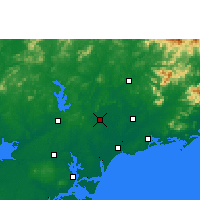 Nearby Forecast Locations - Huazhou - Mapa