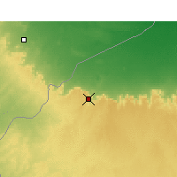 Nearby Forecast Locations - Nalut - Mapa