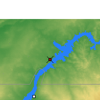 Nearby Forecast Locations - Abu Simbel - Mapa