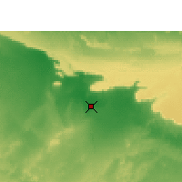 Nearby Forecast Locations - Dakhla Oasis - Mapa