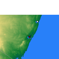 Nearby Forecast Locations - Mombasa - Mapa