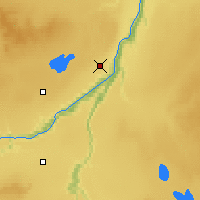 Nearby Forecast Locations - Peace River - Mapa