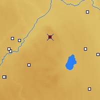 Nearby Forecast Locations - Elk Island - Mapa