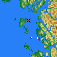 Nearby Forecast Locations - Grey Islet - Mapa
