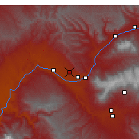 Nearby Forecast Locations - Grand Junction - Mapa