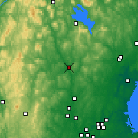 Nearby Forecast Locations - Concord - Mapa