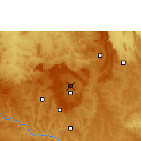 Nearby Forecast Locations - Brasília - Mapa