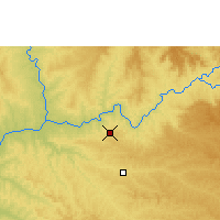 Nearby Forecast Locations - Capinópolis - Mapa