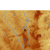 Nearby Forecast Locations - Belo Horizonte - Mapa