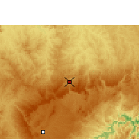 Nearby Forecast Locations - Jaguariaíva - Mapa