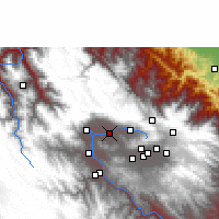 Nearby Forecast Locations - Cochabamba - Mapa