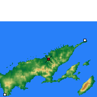 Nearby Forecast Locations - Labasa - Mapa