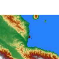 Nearby Forecast Locations - Madang - Mapa