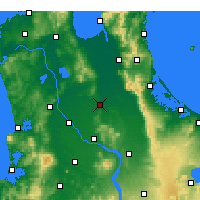 Nearby Forecast Locations - Morrinsville - Mapa