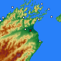 Nearby Forecast Locations - Blenheim - Mapa