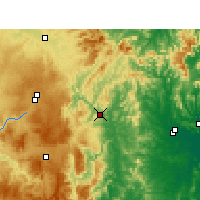 Nearby Forecast Locations - Tabulam - Mapa