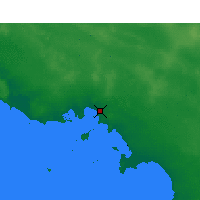 Nearby Forecast Locations - Ceduna - Mapa