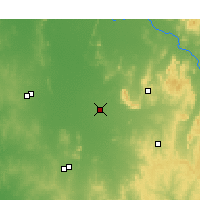 Nearby Forecast Locations - Quandialla - Mapa