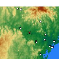 Nearby Forecast Locations - Singleton - Mapa