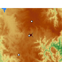 Nearby Forecast Locations - Armidale - Mapa