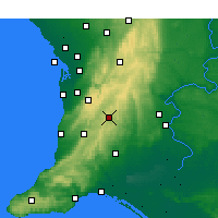 Nearby Forecast Locations - Mount Barker - Mapa