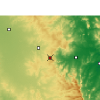 Nearby Forecast Locations - Toowoomba - Mapa