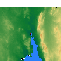 Nearby Forecast Locations - Port Augusta - Mapa