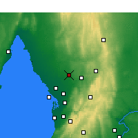 Nearby Forecast Locations - Roseworthy - Mapa