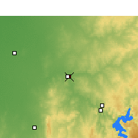 Nearby Forecast Locations - Dubbo - Mapa