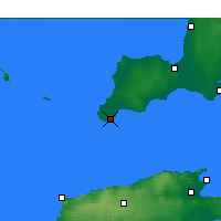 Nearby Forecast Locations - Stenhouse Bay - Mapa